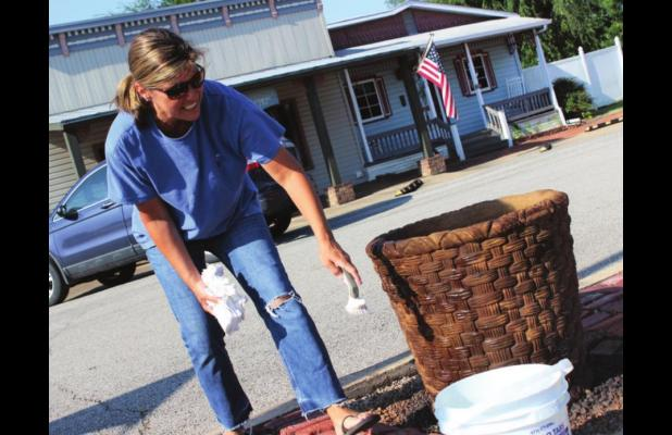 Downtown beautification project ongoing