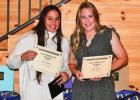 Lady Mustangs honored at Softball Banquet